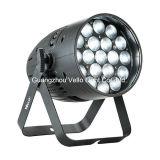 Luz de la etapa de la IGUALDAD de la colada del zoom de Vello LED (LED Zoompar 19 4in1)