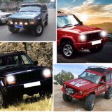 Wholesale Sealed High Low dual Beam 5X7 7X6 LED Headlight for jeep Cherokee Xj Trucks