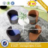 Ocio tejido Pie de aluminio Sillas Taburetes Muebles de hogar (HX-SN8055)