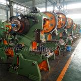 Máquina da imprensa de perfurador da potência mecânica do furo do metal de folha da série J23
