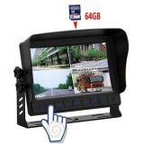 7 영상 기록, 65g SD 카드를 가진 인치 TFT LCD 스크린 차 모니터