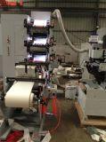 Máquina de impressão Flexographic com cortar (ZB-320-4C)