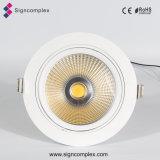 セリウムRoHS Daliが付いている120lm/W 3inch LED Downlightの穂軸5W