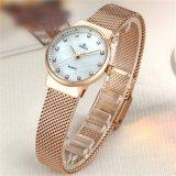 De façon personnalisée Watch Mesdames Crystal montre-bracelet en acier inoxydable 71340