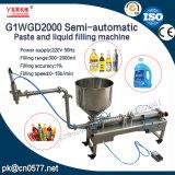 Halbautomatische Paste und Flüssigkeit-Füllmaschine für Sahne (G1WGD2000)