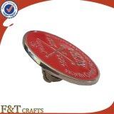 Pin de encargo de la solapa de la divisa de la insignia de las ventas calientes