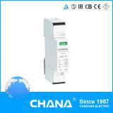 prendedor do impulso do SPD do C do dispositivo de proteção 20ka do impulso da C.C. 2p+N