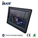 베스트 셀러 7inch LCD 스크린 영상 디스플레이하 디지털 사진 프레임