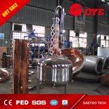 Distillation industrielle de whiskey d'acier inoxydable de matériel de distillation d'alcool