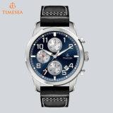 De Sport van het Merk van het Kwarts van het Horloge van de Chronograaf van het Staal van de Manier van Mens let op 72689