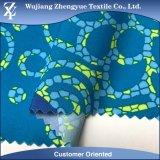 Stof van Spandex van de Polyester van de kwaliteit Ultralight Geweven Afgedrukte voor de Borrels van de Raad