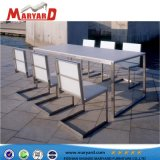 高品質の最もよい販売の屋外のステンレス鋼表及び椅子の家具