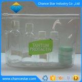 Kleur van de douane drukte de Transparante Kosmetische Zak van pvc af