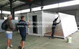 Casa de acero prefabricada del panel de emparedado del EPS para el trabajador