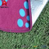 習慣によって印刷される北極の羊毛の防水ピクニック毛布