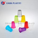 copo bebendo plástico de cor 7oz vermelha