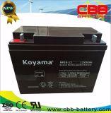 Schleife AGM-Batterie der Koyama Energien-12V50ah tiefe für UPS-Energie, Sicherheitssystem