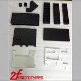 Le parti di plastica hanno personalizzato i prototipi veloci di plastica di gomma neri di alta precisione