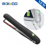 Fer à repasser de voyage sans fil Mini lisseur cheveux tailleuse portable sans fil rechargeable