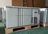 Gastronorm Undercounter Freezer 2 portas com prateleiras ajustáveis Dixell o Termostato