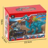 3D電気機械戦いの恐竜のミュージカルのおもちゃ