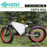 Bici eléctrica del neumático gordo lleno de la suspensión 1000W