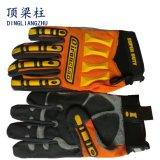 作業のための高い耐衝撃性TPRの安全手袋を反切りなさい