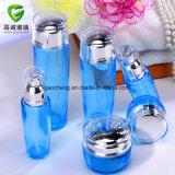 De blauwe Kosmetische Reeks van de Fles