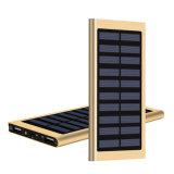 2017 nuevos productos se doblan la batería externa 20000mAh Powerbank del cargador del USB de la batería portable de la energía solar