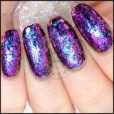 Pó irregular do Glitter dos flocos de Paillettes do Chameleon para o polonês UV do gel