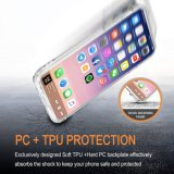 für iPhone X IMD Fall Anti-Löschen freier harter rückseitiger Deckel-transparenter Plastikfall flexiblen weichen TPU Stoßfall für iPhone X