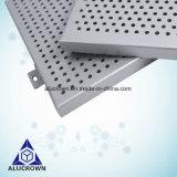 Los materiales de construcción metálica perforada decorativos