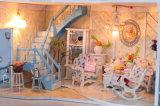 DIYの熱い販売の木の人形の家の明けましておめでとうのギフト