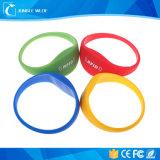 125kHz Wristband Eco-Friendly por atacado do silicone RFID para o controle de acesso