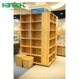 Un buen diseño estanterías de madera mostrar frutos soporte vegetal