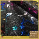 Пятиконечная звезда с тканью ткани пленки 7 цветов горячей