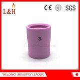 ugello di ceramica dell'allumina 14n61 per il cannello per saldare di TIG