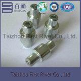 10.5X32.6mm白い亜鉛カラー管状の鋼鉄停止Pinのリベット