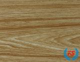 La serie de grano de madera de teca de melamina Muebles de papel decorativo