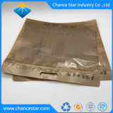 Kundenspezifische Unterwäsche-Verpackungs-Reißverschluss-Verschluss-Aluminiumfolie-Plastiktasche