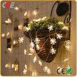 Lichten van het Koord van de Decoratie van de Vakantie van de Lichten van de Fee van LEIDENE Kerstmis van het Koord de Lichte