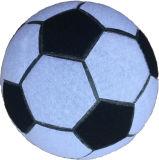 Esfera macia de borracha durável do brinquedo da esfera de futebol