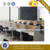Hoher Grad-Büro-Tisch-moderner Büro-Möbel-Glasspitzenbüro-Schreibtisch (HX-8NR0013)