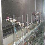 ガラスコップの吹き付け塗装機械