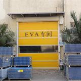Porta deslizante da porta de alta velocidade industrial do rolamento do PVC da porta do rolamento