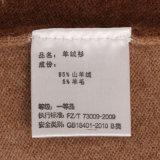 Caxemira By14004 e pulôver finamente feito malha misturado lãs