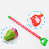 夏のスポイト押しのタイプ水銃のプラスチックおもちゃ