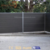 Легко к загородке алюминия WPC установки напольной составной декоративной