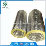 Doppelte Schicht-Aluminiumfolie-flexible Leitung mit Feuerfestigkeit