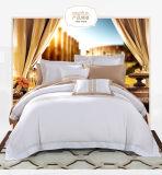 이탈리아 호텔 공단 스티치 백색 깃털 이불 덮개 전통적인 깃털 이불 덮개